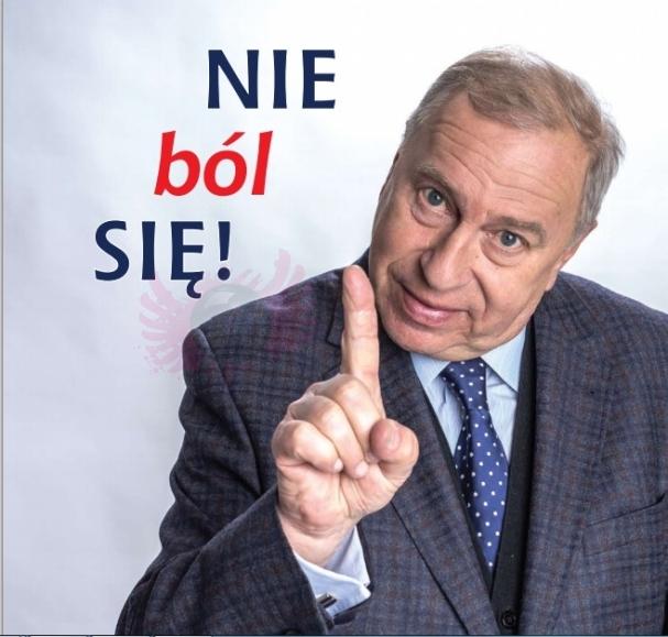 """""""Rak wolny od bólu"""" prof. Jerzy Stuhr"""