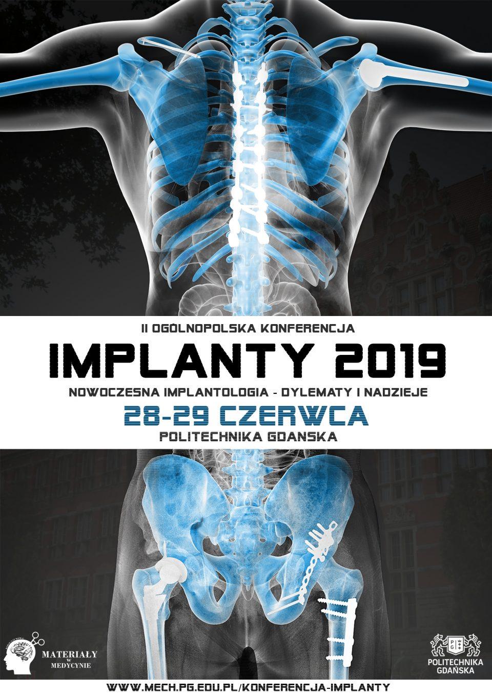 Plakat implanty 2019